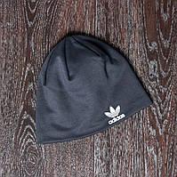 Спортивная шапка серая adidas