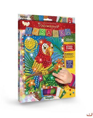"""Набор для творчества """"Блестящая мозаика"""" Попугай"""