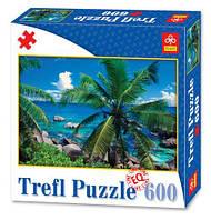 """Пазлы """"Тропический рай"""", 600 элементов"""