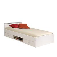 Кровать односпальная 90*190 с дополнительными ящиками для хранения белья