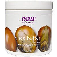Now Foods, Solutions, Масло ши, 207 мл, Shea Butter