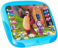 Интерактивный обучающий 3D планшет Маша и Медведь сказки песни и Английский язык