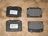 Колодка тормоз ВАЗ 2101 передняя безасбестовая (комплект 4шт.) (М ифк 271) Механик (Производство Цитрон)