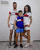 Парная одежда Женская футболка 2103 НР Код:536543947