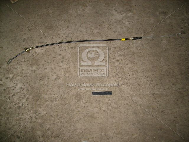 Трос ручного тормоза ГАЗ 3110 прав. (1590мм) (покупной ГАЗ) (арт. 3110-3508180-01), ABHZX