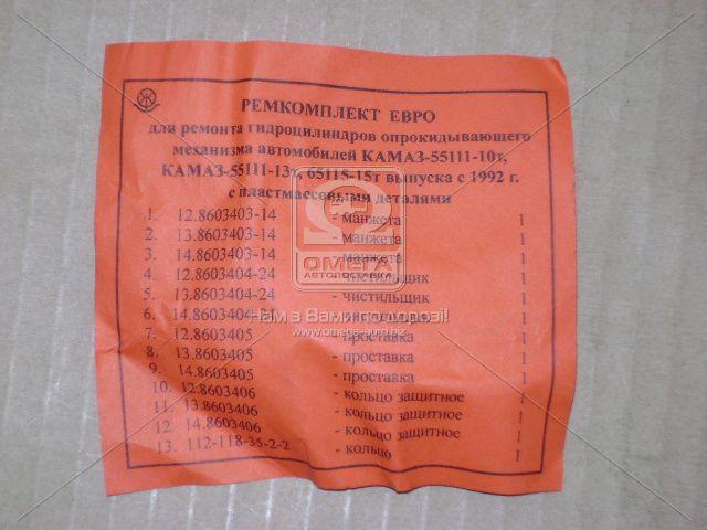 Ремкомплект гидроцилиндра подъема кузова КАМАЗ 55111, 65115 (производство Россия) (арт. 55111-8603000-20), AAHZX
