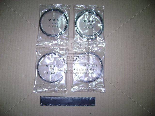 Кольца поршневые 82,0 (хром) (производство АвтоВАЗ) (арт. 21083-100010000), ACHZX
