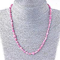 """Бусы Турмалин розовый,  """"галтовка""""  5-8мм (+- 4), длина 48см Код:574778288"""
