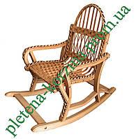 Кресло-качалка детская из лозы (разборная) Арт.12610д