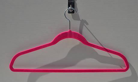 Плечики Вешалка покрытие велюр 28 см, фото 2