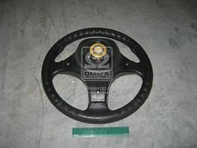 Колесо рулевое ВАЗ 2101-07,2121 Вираж Люкс (3х спиц.) (производство Россия) (арт. 3703-3402010-20), rqv1