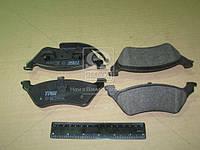 Колодка тормозной CHRYSLER, DODGE, JEEP задней (Производство TRW) GDB4130