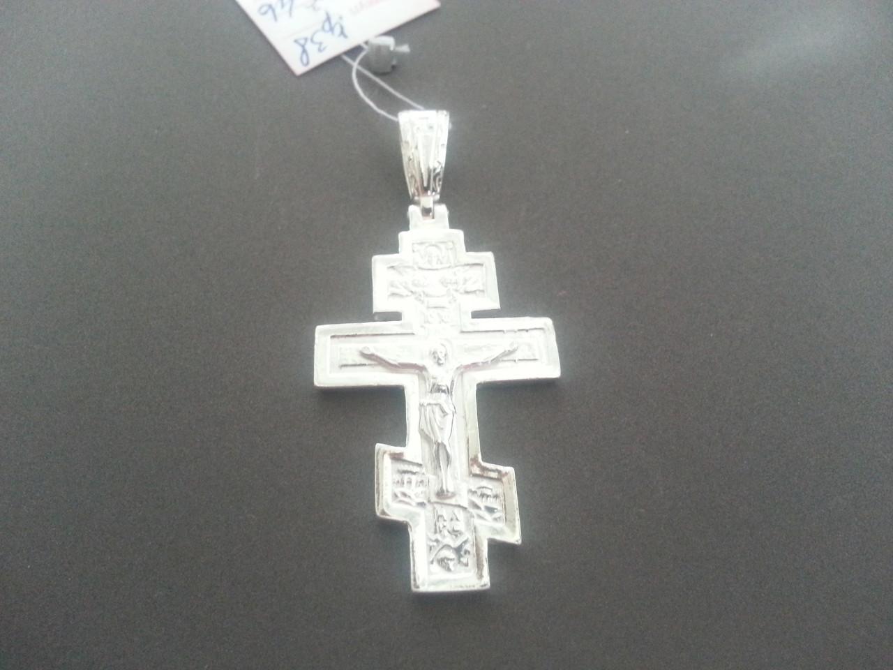Большой Серебряный Крест Арт. Кр 38
