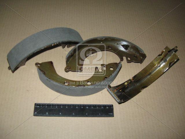 Колодка тормозная барабанная MITSUBISHI LANCER задн. (производство ABS) (арт. 8666), ACHZX