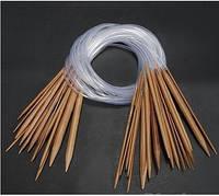 Бамбуковые круговые спицы 6.5мм