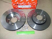 Диск тормозной DAEWOO LANOS, CHEVROLET AVEO передний, вент. (Производство TRW) DF1609
