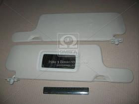 Козырек солнцезащитный ВАЗ 2109 (с зерк.) лев+прав. (арт. 21093-8204010/11 (с), ABHZX