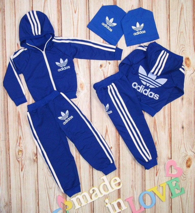 7c10f7c1 Детский спортивный костюм, двухнитка, 74-128 рост - Интернет-магазин