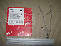 Колодка тормозной комплект монтажный FORD, MB, OPEL передний (Производство TRW) PFK302