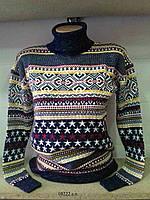 Женский зимний свитер под горло 10222 с.т. Код:604385029