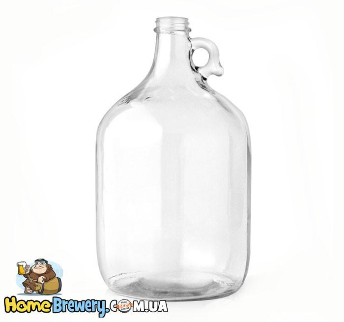 Ферментер стеклянный для вина и пива 5л