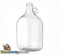 Ферментер стеклянный для вина и пива 5л , фото 1