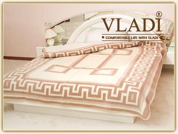 Vladi жаккардовое шерстяное одеяло 200х220