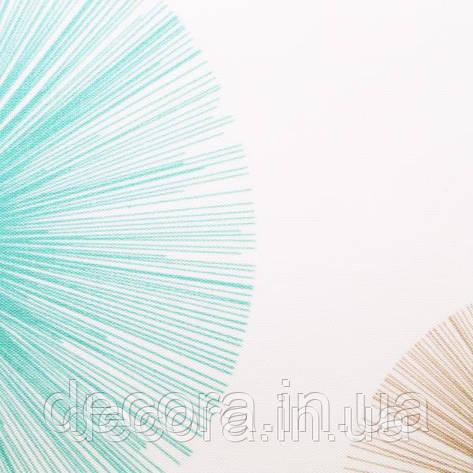 Рулонні штори Стандарт Salut 1 Blue 40см., фото 2