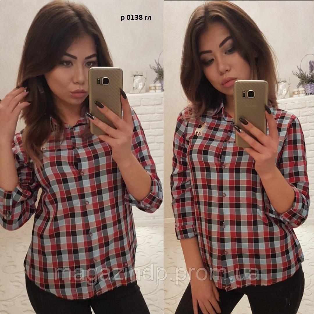 Женская рубашка р0138 гл Код:610360527