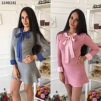 Женское вязаное платье 1240 (16) Код:615580702