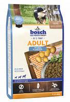 BOSCH  Adult Fish & Potato - Полнорационный корм для взрослых собак со средним уровнем активности 3 кг