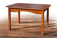 Стол обеденный раскладной Оксфорд коньяк