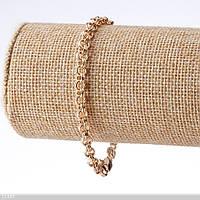 Браслет Хьюпинг плетение арабский Бисмарк L-19см  s-4мм Код:574798664