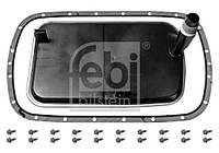 Фильтр масляный АКПП BMW (E36, E39, E46) 98-07 с прокладкой (производство FEBI), AEHZX