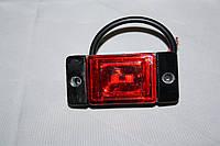 Диодный габаритный фонарь красный