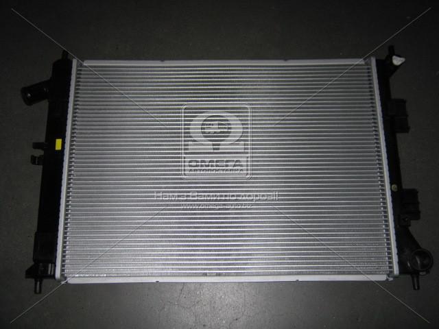 Радиатор охлаждения двигателя Hyundai Elantra 11-/I30/Kia Seed 12-/Soul 11- (производство Mobis) (арт. 253103X051), AGHZX