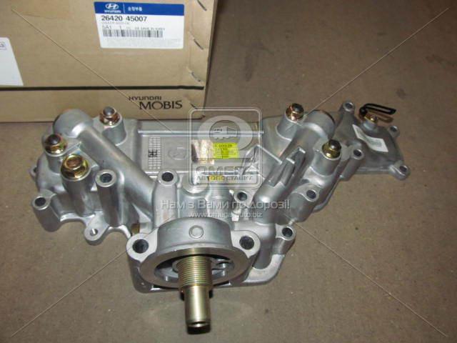 Радиатор масляный Hyundai Hd35/hd75 04- (производство Mobis) (арт. 2642045007)