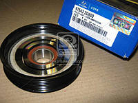 Шкив компрессора кондиционера Hyundai Elantra 00-/Tucson 04-/Kia Carens/Sportage 04- (производство Mobis), AGHZX