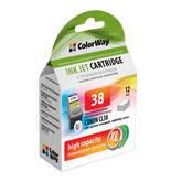 Картридж струйный ColorWay совместимый с Canon CL-38 (CW-CCL38)