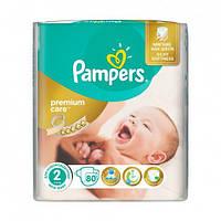 Подгузники Pampers Premium 2 Mini (3-6 кг), 80 шт