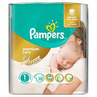 Подгузники Pampers Premium Care (2-5 кг), 22 шт