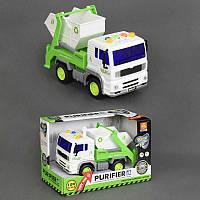 Детский инерционный грузовик Мусоровоз WY520B