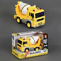 Детский инерционный грузовик Бетономешалка WY510B