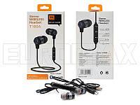 Наушники вакуумные с микрофоном Bluetooth T180A-JBL