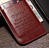 Кожаный чехол-книжка для Samsung Galaxy S3 i9300 черный, фото 2