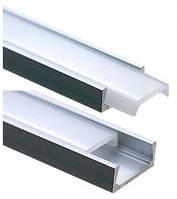 Профіль алюмінієвий АП07 1,8м (в асортименті) ПП