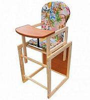 Детский деревянный стульчик стул для кормления Код:475252863