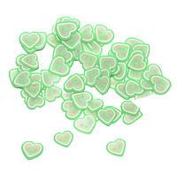 "Фимо для ногтей №165 ""Сердца"", фото 1"