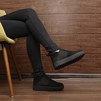 Женские демисезонные ботинки на платформе модель 7225.1