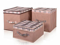 Короб для хранения вещей 30х40х30 Код:111097